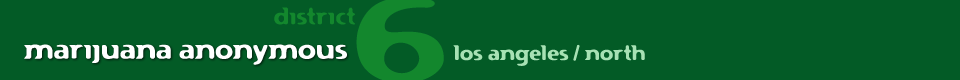 Marijuana Anonymous | District 6 | Los Angeles